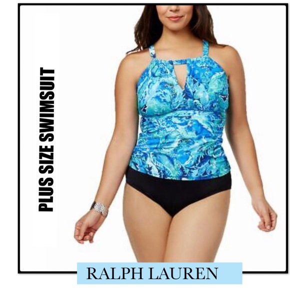 e0396aacb4 Ralph Lauren Swim | Nwt Hight Neck Tummy Control | Poshmark